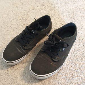 Vans Balck Atwoods Skate Shoes